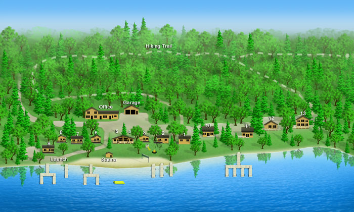 and places cabins to cabin minocquasummer rentals minocqua resorts wi cottage stay cottages